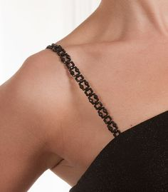 fcc7e1b4c5 Beaded bra straps as fashion accessory. Replace clear bra straps with our  shoulder jewelry beaded straps.