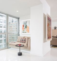 nice A Post-War Manhattan Apartment Gets a Contemporary Renovation Check more at http://www.interiordesignnewideas.com/a-post-war-manhattan-apartment-gets-a-contemporary-renovation.html