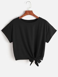 Tie Front Tshirt Mobile Site
