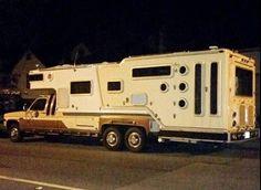 Monster custom truck camper!  #truckcamper