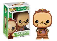 Pop! Disney: Cogsworth | Funko  Possible Stores: B&N, Target, Walmart, Toys R Us...