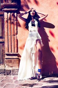 """Tiffany Keller in """"Senorita"""" Photographed By Vladimir Marti &Styled By Gerard Angulo For Marie Claire Latin America, April 2013"""