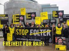 Stop Folter-Freiheit für Raif
