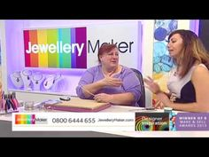 Wire Wrapping for Beginners - JewelleryMaker DI Live 01/01/15 - YouTube