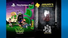 PlayStation Plus members are not happy with Januarys free games   PlayStation Plus members get excited to hear the announcement of the upcoming free games everymonth. With a new year coming many members were hoping for some big and exciting games in January. However they were met with disappointment.  Heres the list of games:  Day of The Tentacle Remastered PS4 (Cross buy on PS Vita)  This War of Mine: The Little Ones PS4  Blazerush PS3  The Swindle PS3 (Cross Buy on PS4 and PS Vita)  Azkend…