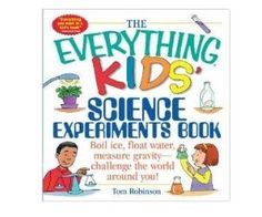Little Homeschool Blessings: Laboratory with The Everything Kids' Science Experiments Book: Boil Ice, Float Water, Measure Gravity-Challenge the World Around You! Science Tricks, Cool Science Experiments, Science Lessons, Science Projects For Preschoolers, Science For Kids, Best Science Books, Homeschool Books, Homeschooling, Earth Book