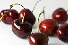 #Cherries are low-calorie #fruits that loaded with #vitamins A and C, iron, calcium and antioxidants. While they're fresh in the summer, cherries are delicious in seasonal baked goods like pies and cakes. Or get creative with a cherry sauce for a meat dish.