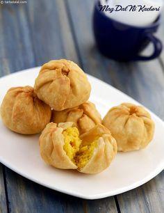 Mag Dal Ni Kachori ( Gujarati Recipe)
