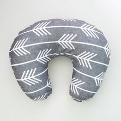 Boppy Cover Charcoal Arrows. Boppy. Nursing Pillow. by iviebaby