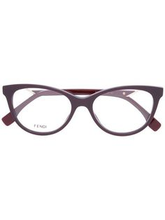 5e34af1ec85 Shop Fendi Eyewear cat eye optical glasses. Fendi Glasses