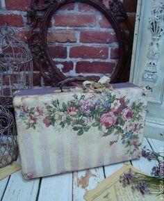 "Чемодан ""Секрет старого чемодана"". Handmade."