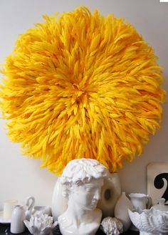 Yellow/Orange Juju Hat