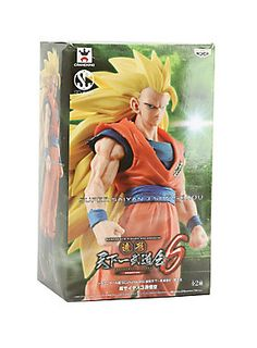 """For the sixth tournament of master figure designers for the Dragon Ball franchise, called the Tenkaichi Budoukai, Banpresto Figure Colosseum proudly presents the champion entry in the coveted SCultures figure line!<br><br>Perfectly capturing the strength and winning determination of the mightiest form of Goku in the Dragon Ball Z series, master artist Ito Yoshinori took top honors to be recognized as this competition's true essence of SCultures talent. <span class=""""a-list-item"""">Includes a…"""