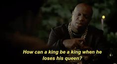 season 3 empire premiere fox tv birdman 3x1 how can a king be a king when he loses his queen #humor #hilarious #funny #lol #rofl #lmao #memes #cute