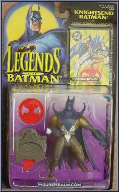 Kenner Legends of Batman Series 2 Batman (Knightsend) Figure 1995