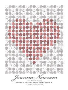 joanna newsom - gig poster