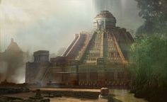 concept art aztec - Google Search