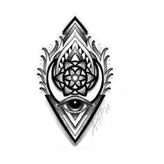 Check out this awesome 'Eye Geometry' design on Mandala Tattoo Men, Mandala Elephant Tattoo, Mandala Tattoo Design, Elephant Tattoos, Tattoo Designs, Geometric Mandala Tattoo, Head Tattoos, Time Tattoos, Body Art Tattoos
