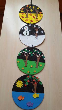 4 Seasons Montessori Toddler Preschool Art Crafts Kindergarten