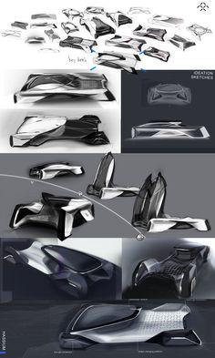 Revolutionary pickup transportation system for Michelin Contest Design X Faraday Future