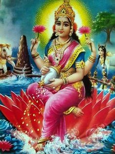 Akshaya Tritiya 2020 is the perfect time to experience wealth showers. So, let's make use of Akshaya Tritiya 2020 to perform rituals for never-ending riches. Saraswati Devi, Durga Ji, Shri Hanuman, Shiva Shakti, Radhe Krishna, Indian Gods, Indian Art, Lakshmi Images, Ganesha Art