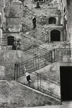 René Burri, 'Leonforte, Sicily, Italy', 1956