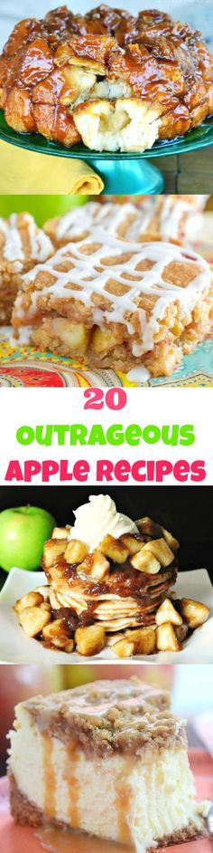 20 Crave-Worthy Apple Recipes You Just HAVE to Try!!    Thanksgiving Desserts  Christmas Desserts