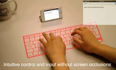 Gestural control technology for mobile devices will overtake touchscreen input methods, just one thing wrong with it, does not work when traveling..