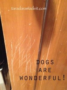 DIY all those scratches on the wood work around the house instead of stripping & re-staining.