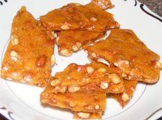 peanut brittle  http://bakingmemorieslast.com/2012/03/peanut-brittle/