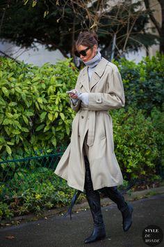 Julie Pelipas Street Style Street Fashion Streetsnaps by STYLEDUMONDE Street Style Fashion Photography