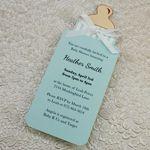 bottle babyshower invite