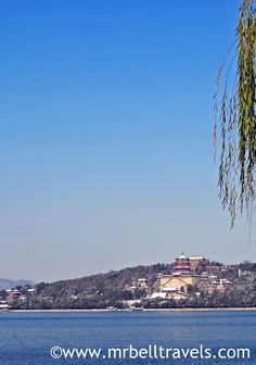 Looking out over Kunming Lake at the Summer Palace Beijing