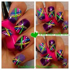 FUN SUMMER NAIL ART FOR BEGINNERS by MyDesigns4you - Nail Art Gallery nailartgallery.nailsmag.com by Nails Magazine www.nailsmag.com #nailart