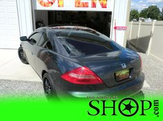 This Honda we did in the summer, nice windows yo ;))  The Spokane SHOP specializes in Window Tinting, get your windows done today! Call in!