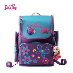 49.98$  Watch here - http://aliipm.worldwells.pw/go.php?t=32634414186 - Delune High Quality School Bags for Boys Girls Children Backpacks Primary Student Backpacks Kids Schoolbag Kids Book Bag 49.98$