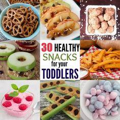 Healthy Toddler Snacks, Toddler Meals, Toddler Food, Homemade Cheez Its, Frozen Yogurt Bites, Biscuits Graham, Cute Snacks, Kid Snacks, School Snacks