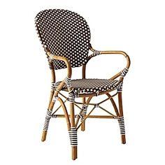 Mushroom Riviera Arm Chair by Serena & Lily