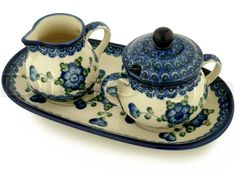 Google Image Result for http://www.artisanimports.com/Polish_Pottery/Picture/big/H5826A/SUGAR_AND_CREAMER_SET.jpg