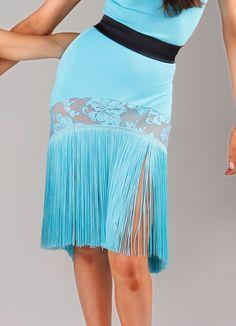 DSI Lottie Juvenile Latin Dance Skirt 3136J| Dancesport Fashion @ DanceShopper.com