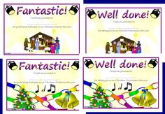 A set of simple certificates to present to children who performed well in your school's Christmas production/nativity. Gaming Desktop, Work Project, Teaching Resources, School Stuff, Certificate, Things To Think About, Christmas Ideas, Presents, Gifts