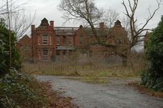 """A jaunt to the eerie and decaying remains of Whittingham Hospital, a place where mental patients of yesteryear were sent to remain """"out of the way"""" from the general public. Haunted Asylums, Abandoned Asylums, Abandoned Houses, Abandoned Places, Scary Places, Haunted Places, Places Around The World, Around The Worlds, St John's Church"""