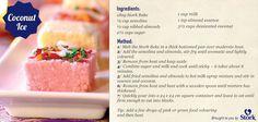 Coconut Ice #recipes