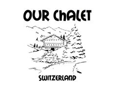 Our Chalet colouring sheet