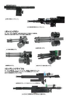 Lego Mech Guns