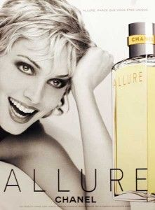 Allure by Chanel Perfume Ad, Cosmetics & Perfume, Perfume Bottles, Vintage Advertisements, Vintage Ads, Retro Ads, Perspective Photos, Parfum Chanel, Herb Ritts