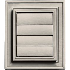 Builders Edge 140147079048 Square Exhaust Vent 048, Almond ** Visit the image link more details.