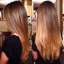 Image result for balayage straight hair brunette