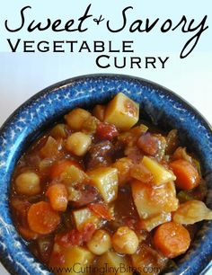 Sweet and Savory Vegetable Curry _ I remember vividly the first time I ...