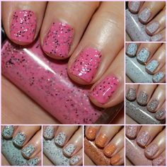 Hard Candy Candy Sprinkles Nail Lacquer Collection Swatches and Review - Vampy Varnish